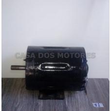 Casa dos Motores 3/4 CV 4 Polos (Ref 12) Motor Elétrico Monofásico 110/220 Mod 46 Recondicionado c.m