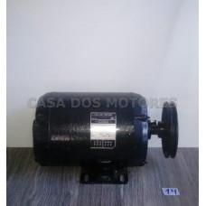 Casa dos Motores 2 cv 2 polos (Ref 14) Motor Elétrico Trifásico 220/380 Ref 14 Mod 56 Recondicionado c.m