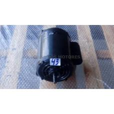Casa dos Motores 3/4 cv 2 polos (Ref 43) 34087 Motor Elétrico Monofásico 220/380 Mod 48 Recondicionado c.m